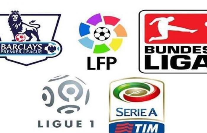 مواعيد مباريات اليوم في الدوريات الأوروبية