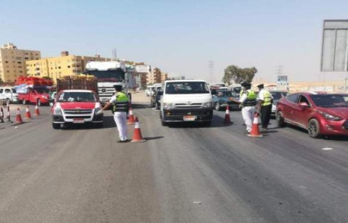 أجهزة الأمن تضبط 13 ألف مواطن لعدم ارتداء الكمامات وإغلاق 594 محلا مخالفا