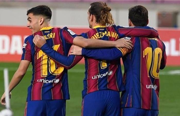 تشكيل برشلونة المتوقع ضد ريال بيتيس في الدوري الإسباني