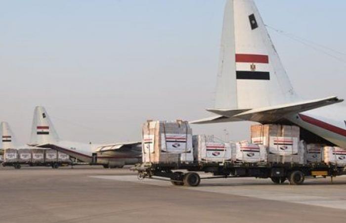 توجيهات رئاسية .. مصر ترسل 3 طائرات مساعدات طبية وغذائية للسودان