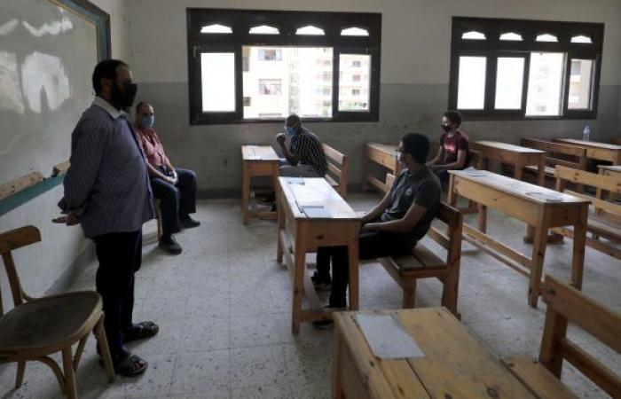 وزارة التعليم المصرية تقرر إلغاء امتحانات الفصل الأول لتلك المراحل الدراسية