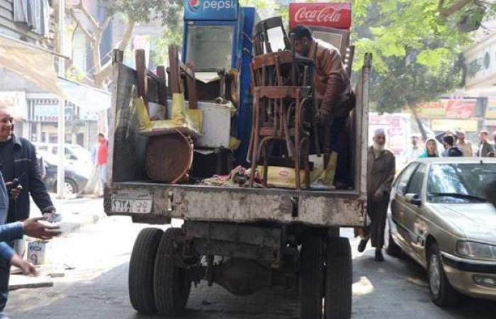 رفع 500 حالة إشغالات بأحياء جنوب الجيزة | صور