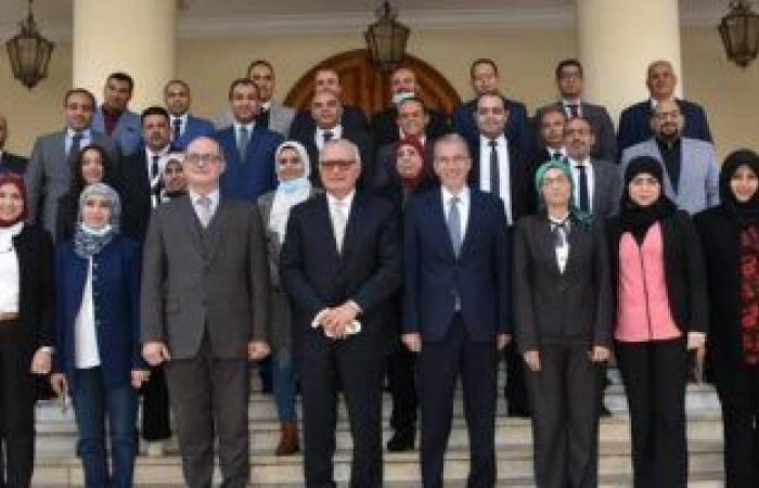 معهد الدراسات الدبلوماسية يستضيف دورة تدريبية لرؤساء مكاتب جامعة عين شمس