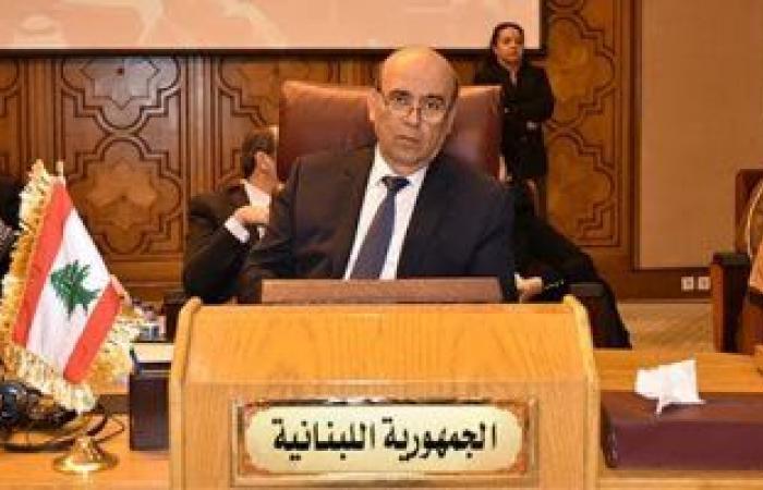 وزير خارجية لبنان يتوجه إلى القاهرة للمشاركة فى اجتماع وزراء الخارجية العرب