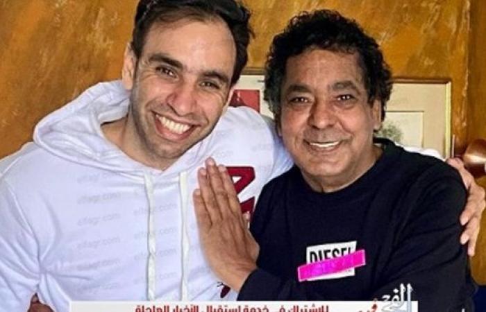 """طاقة إيجابية غير طبيعية .. أحمد الشامي بصحبة محمد منير عبر """"انستجرام"""""""