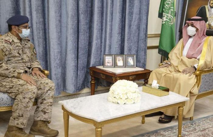 الأمير تركي بن هذلول لـ«قائد قوة نجران»: نفخر ببطولات جنودنا على الحد الجنوبي
