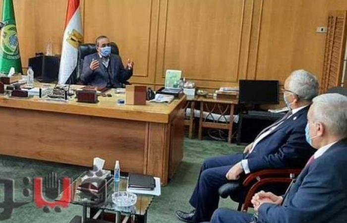 محافظ الإسماعيلية يستقبل نائب وزير التربية والتعليم لبحث سبل التعاون