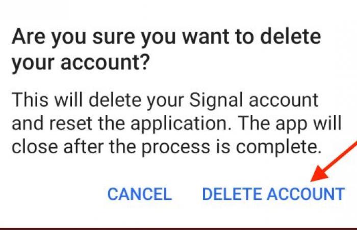 إذا قررت الرجوع لواتسآب.. كيفية حذف تطبيق سيجنال نهائيا لهواتف أندرويد.. صور
