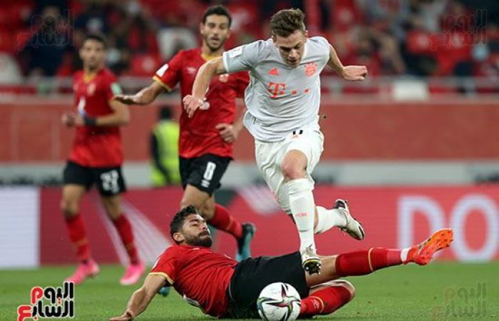 الأهلى وبايرن ميونيخ .. ليفاندوفسكى يقتل المباراة بالهدف الثاني.. فيديو وصور