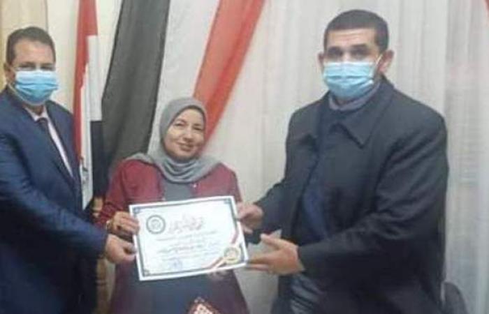 دعاء جابر رئيسا لقسم التعليم الثانوى بفاقوس التعليمية في الشرقية