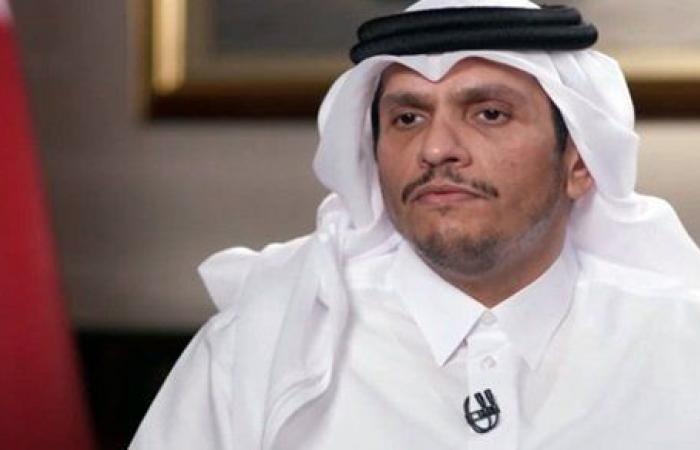 وزير الخارجية القطري من بيروت: لا نسعى أبدًا لنسف المبادرة الفرنسية بشأن لبنان