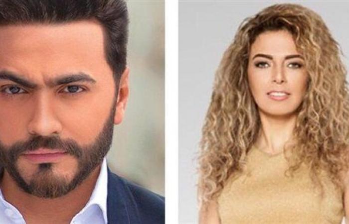 تامر حسنى ضيف جيهان عبدالله فى أجمد سابعة الساعه 7 خلال عيد الحب