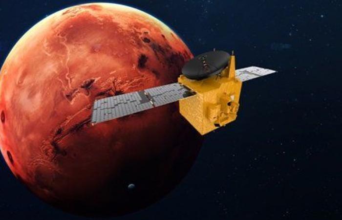 حدث تاريخي.. مسبار الأمل ينجح في دخول مدار المريخ