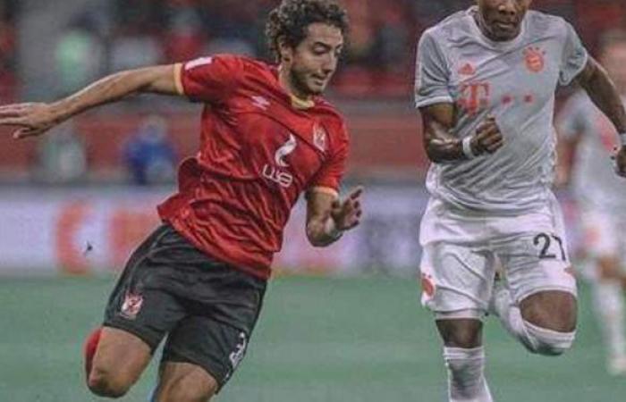 """محمد هاني عن خسارة الأهلي: """"الحمد لله.. التركيز فيما هو قادم""""   صور"""