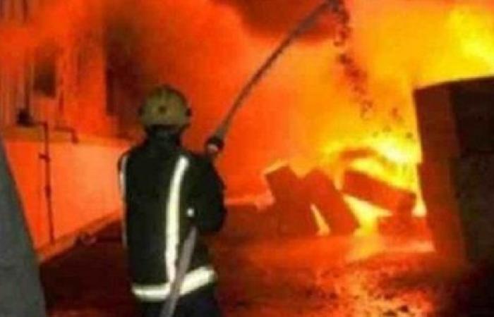 مصرع مسنة في حريق بمنزلها في الزقازيق