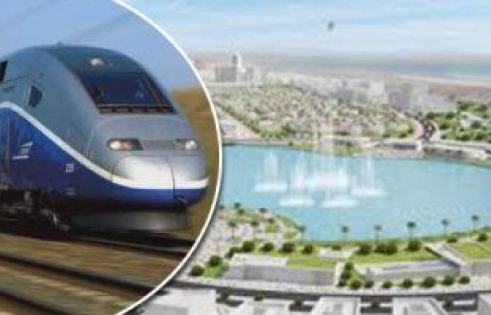 وزارة النقل تبدأ تنفيذ أول خط قطار سريع من العين السخنة للعلمين الجديدة