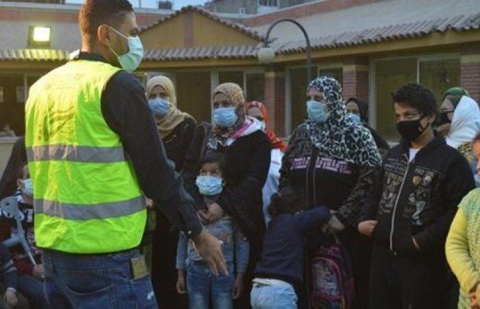 قافلة طلابية لتوزيع البطاطين على مرضى شلل الأطفال