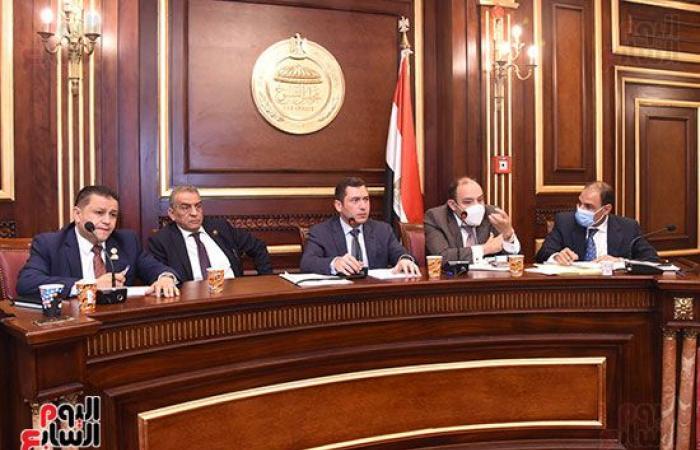 """صناعة """"النواب"""" تناقش تعديلات قانون اتحاد الصناعات المصرى.. صور"""