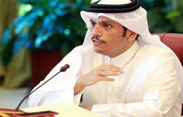 وزير الخارجية القطري ينفي وجود مبادرة لجمع الفرقاء السياسيين اللبنانيين في الدوحة