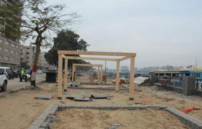 محافظ القليوبية يتابع أعمال تطوير ورصف الميادين في عدد من المدن