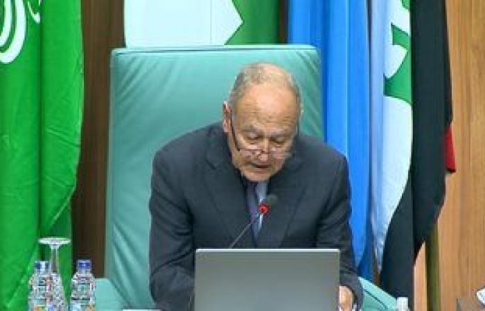 """""""أبوالغيط """" يلتقي وزير الخارجية بحكومة الوفاق الوطني الليبية"""