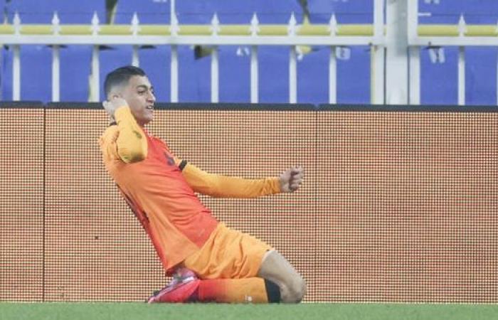 ملخص لمسات مصطفي محمد ضد آلانياسبور في كأس تركيا (فيديو)