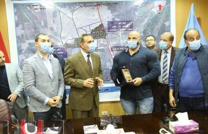 إطلاق اسم بيج رامي على منشأة رياضية بكفر الشيخ | فيديو وصور