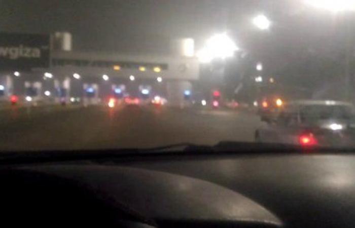 منع سير السيارات على طريق الإسكندرية الصحراوي بسبب الشبورة
