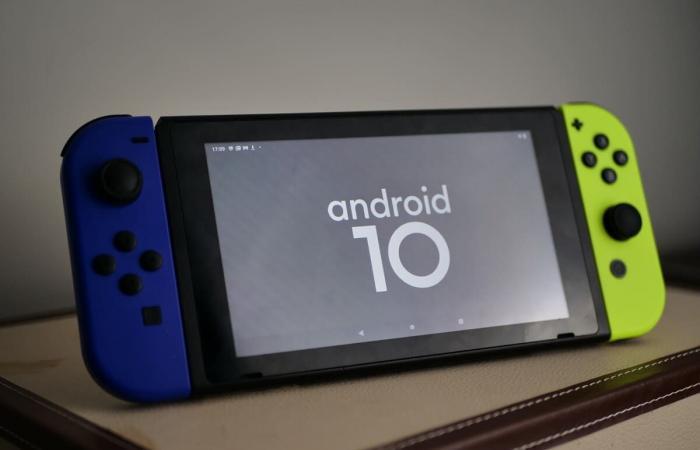 Nintendo Switch يحصل على أندرويد 10