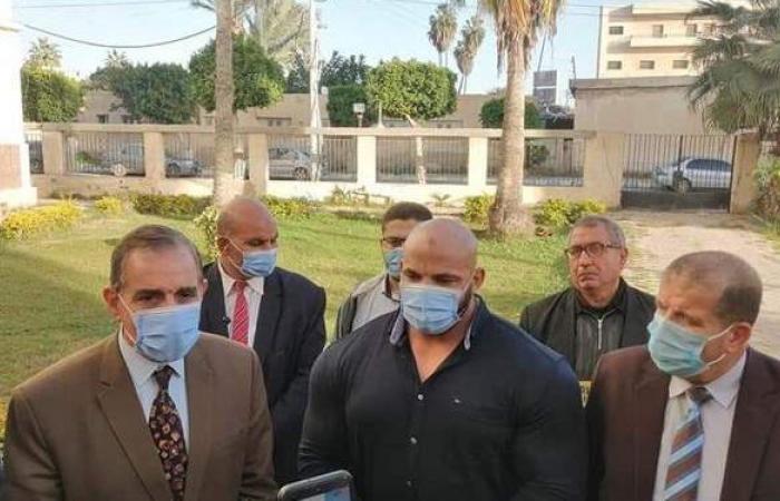 بيج رامي خلال تكريمه بكفر الشيخ: أستعد لخوض بطولات في شهر نوفمبر