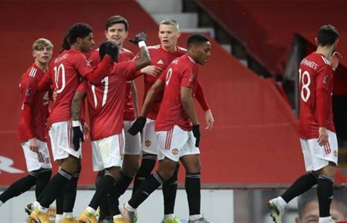 مانشستر يونايتد يتأهل بشق الأنفس لدور الثمانية بكأس الاتحاد الإنجليزي