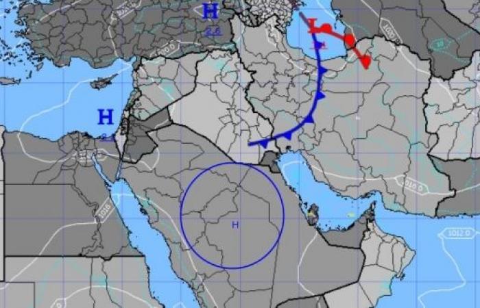 المسند : ارتفاع مؤقت في درجات الحرارة حتى الجمعة