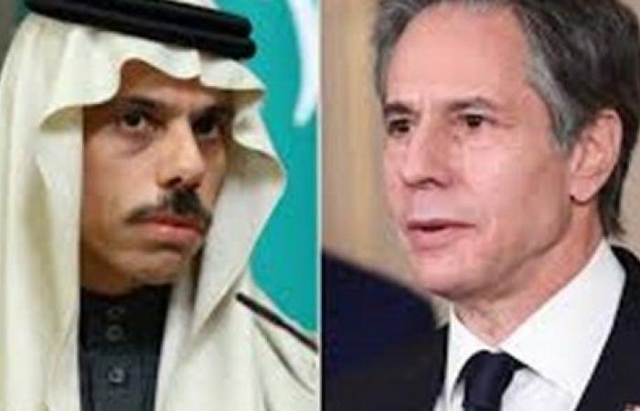 الخارجية الأمريكية: بلينكن يبحث مع بن فرحان تعزيز الدفاعات السعودية