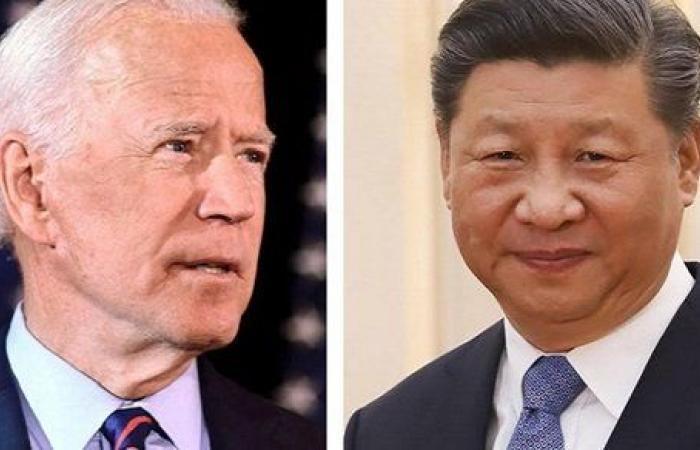 تبادلا وجهات النظر بشأن التحديات .. أول اتصال هاتفي بين بايدن والرئيس الصيني