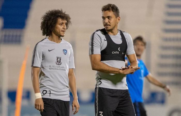 رسميًا.. شباب الأهلي دبي يجمع نجمي الهلال عموري وإدواردو