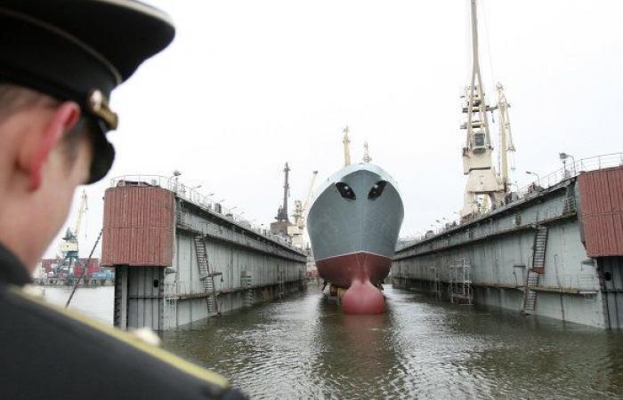 """روسيا: إنشاء سفينة عسكرية """"غير عادية"""""""