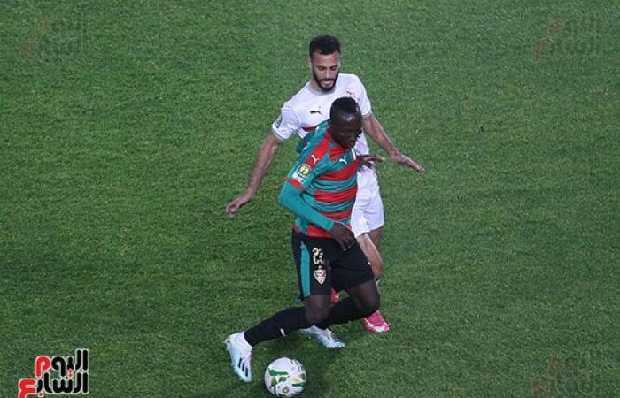 15 دقيقة.. الزمالك يهاجم مولودية الجزائر.. والنتيجة (0 - 0).. صور