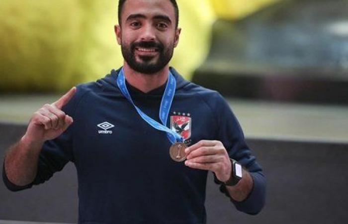 محمود وحيد بعد التتويج ببرونزية كأس العالم: ألف مبروك علينا كلنا