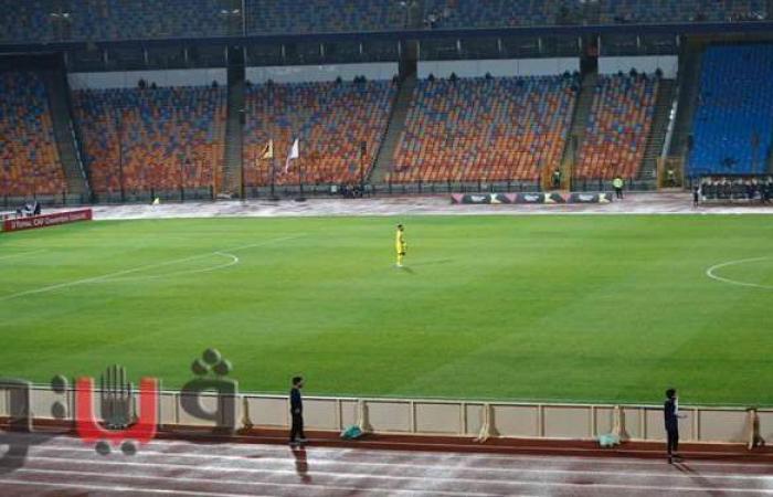 على طريقة نوير.. أبو جبل يتقدم لنصف ملعب مباراة مولودية الجزائر