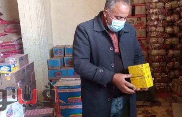 إعدام طن أغذية فاسدة وغلق 3 منشآت في حملات رقابية بالشرقية