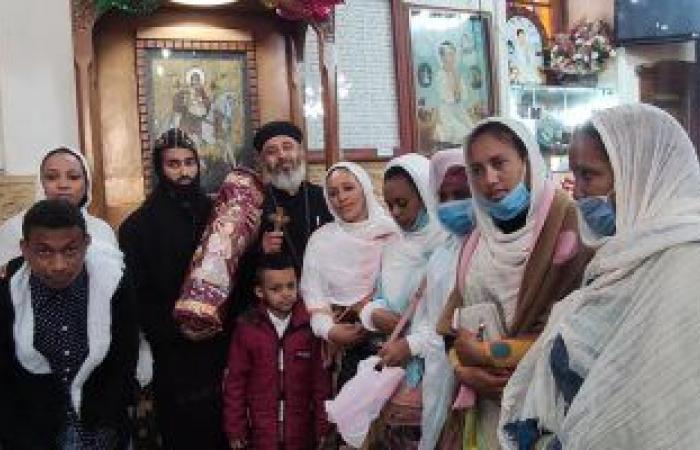 وفد من إريتريا يزور كنيسة العذراء بمسار العائلة المقدسة فى سمنود.. صور