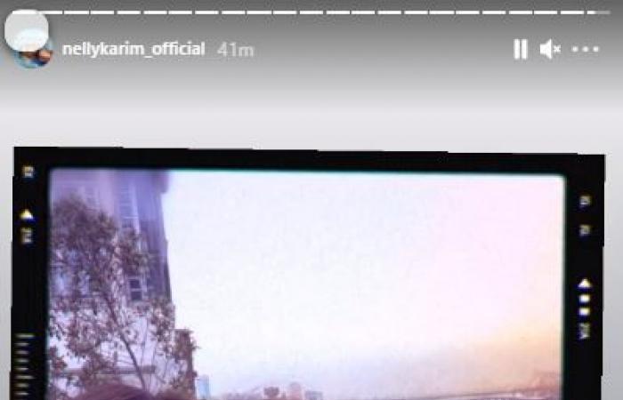 نيللى كريم ويسرا وباسل الخياط فى أحدث ظهور على شاطئ النيل.. صور