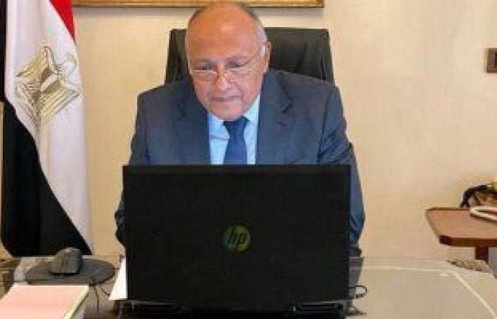 وزير الخارجية: العلاقات المصرية الأمريكية وثيقة واستراتيجية منذ 4 عقود