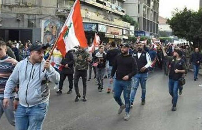 أمام المحكمة العسكرية.. اشتباكات عنيفة بين الأمن والمتظاهرين في لبنان