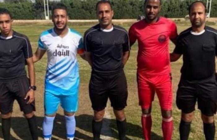 نجع حمادي يفوز علي الشاطئ بثلاثية ويعود للصدارة