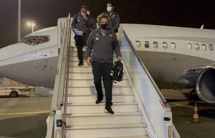 بعثة بيراميدز تصل إلى أبيدجان بالكونفدرالية ..والسفير يستقبل الفريق