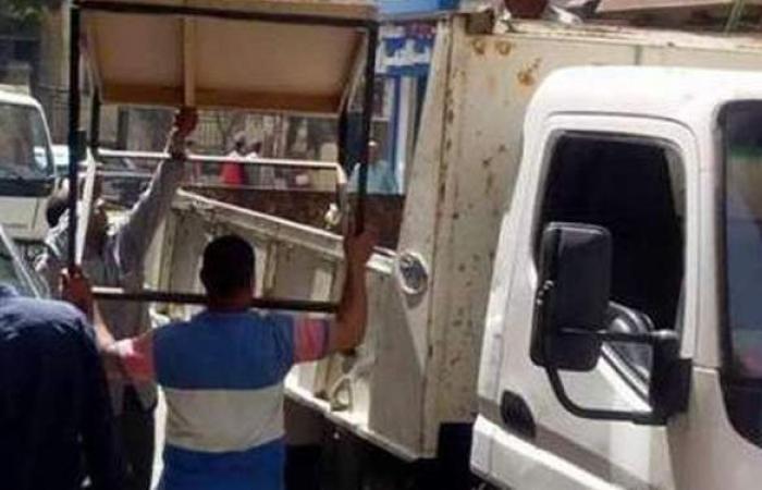 تحرير 331 محضرا لإشغال الطريق العام ببنها