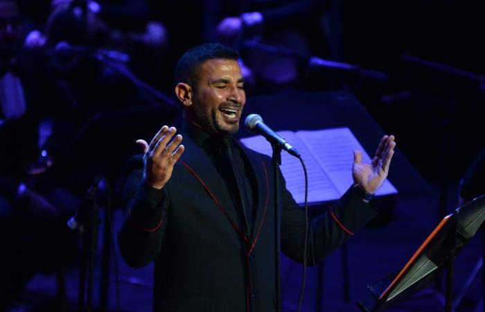 أحمد سعد يتألق في حفل كامل العدد بدار الأوبرا بمناسبة عيد الحب.. صور