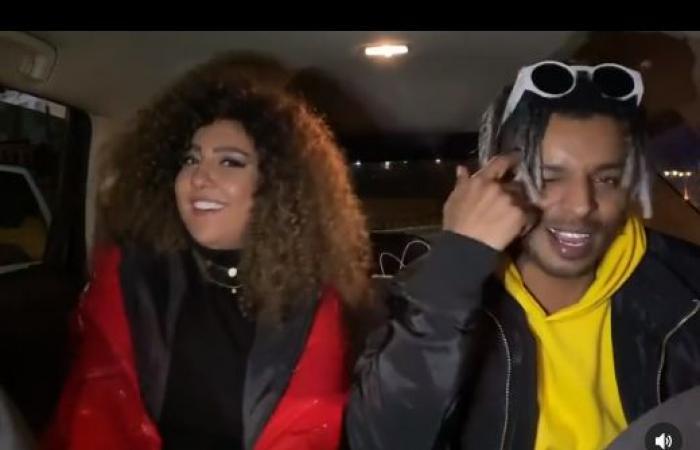 """مى كساب تحتفل بالفلانتين مع أوكا على طريقتها: """"حبنا مجنون غير أى حب"""".. فيديو"""