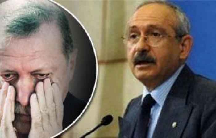 زعيم المعارضة التركية: أردوغان يحرص على ارتفاع معدلات الفقر فى تركيا